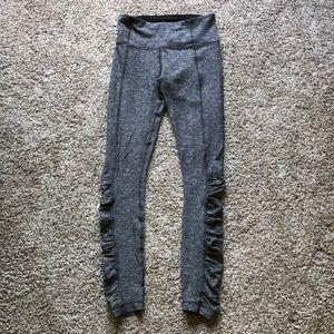 Lululemon leggings soft grey - size 4